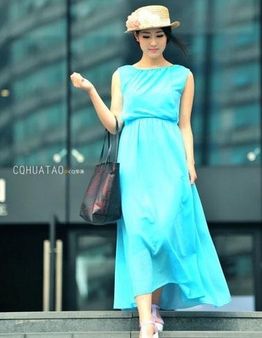 重庆街拍 看妹子演绎夏日时尚