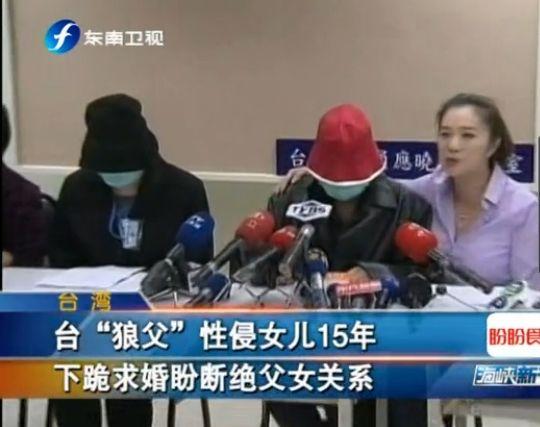 男子性侵18岁女儿15年 纸币折戒指求婚