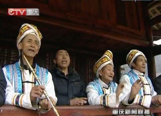 视频:重庆人的元宵节 民俗表演好热闹