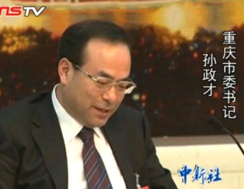 孙政才回应重庆官员涉不雅视频称依法处理