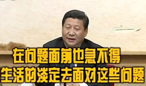"""视频:习近平谈雾霾""""没PM2.5但有PM250"""""""