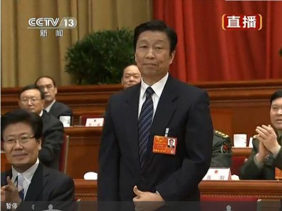 视频:李源潮当选为中华人民共和国副主席