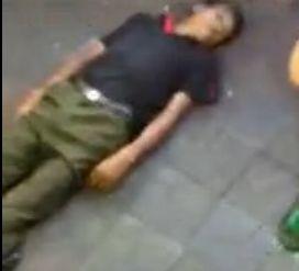 视频:实拍临武城管打死瓜农现场