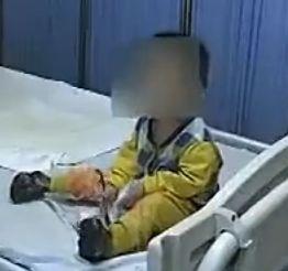 视频:一岁男婴惨遭邻居老太斩断命根