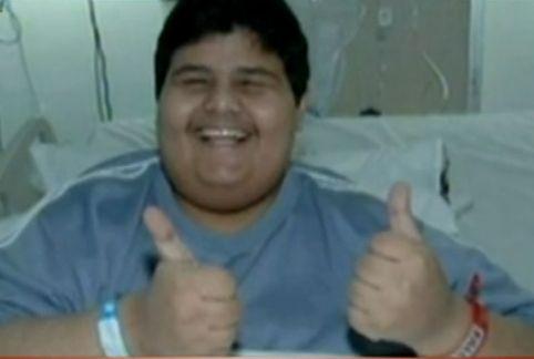 视频:神奇男子3月减150公斤