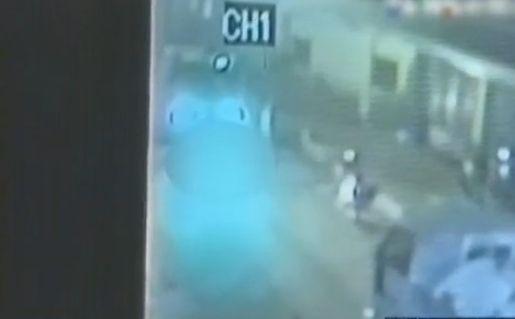 视频:监拍醉酒男开货车碾死女友