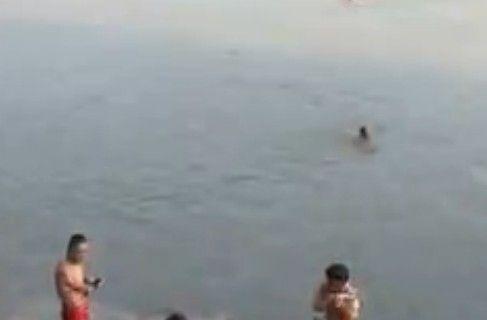 重庆惊现裸泳滩四季都有快乐裸男