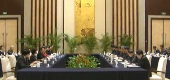 两岸事务部门负责人49年来首次正式会面