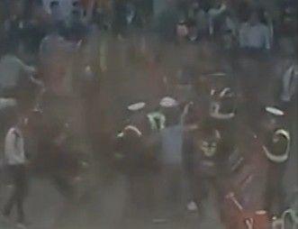 实拍广州雷州协警与市民群殴