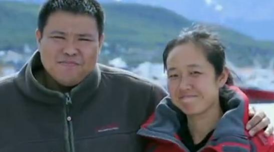 情侣南北极结婚