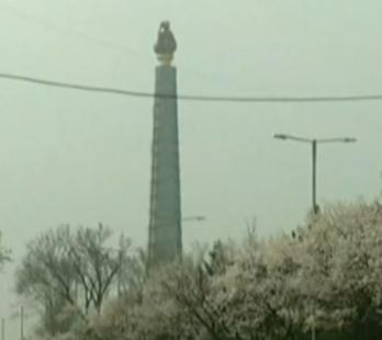 中国客机飞过朝鲜火箭炮轨道 仅差7分钟