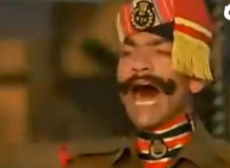 印巴边境降旗仪式
