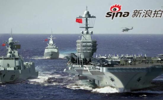 军迷网友自造航母及军舰