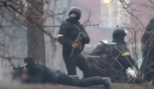 实拍乌克兰骚乱