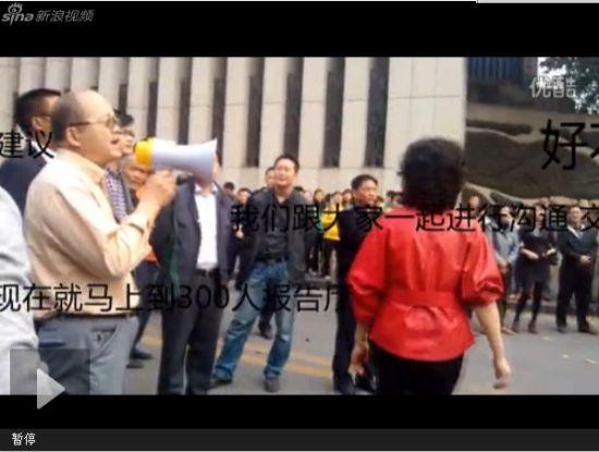 视频:重庆工商大学老师罢课