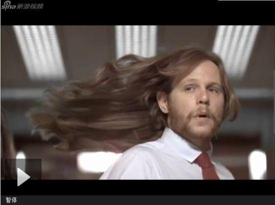 多芬霸气男洗发水广告 主角堪比如花