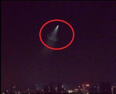重庆网友目击UFO 多个省份看到不明飞行物