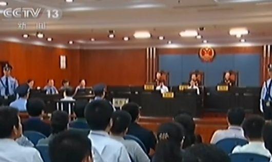 视频:央视6分钟播出薄熙来案宣判全程