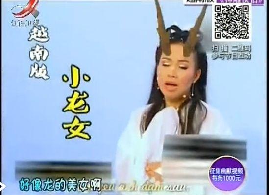 越南版小龙女曝光 网友吐槽长得像龙