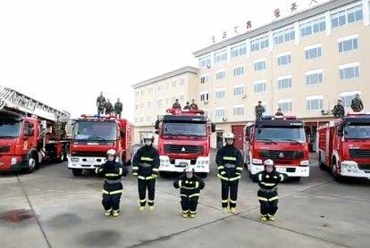 视频:最萌消防舞 搞笑动作萌翻网友