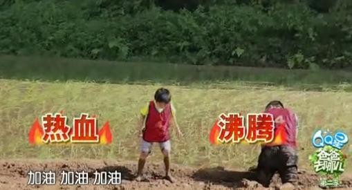 视频:爸爸去哪儿2 泥泞足球赛